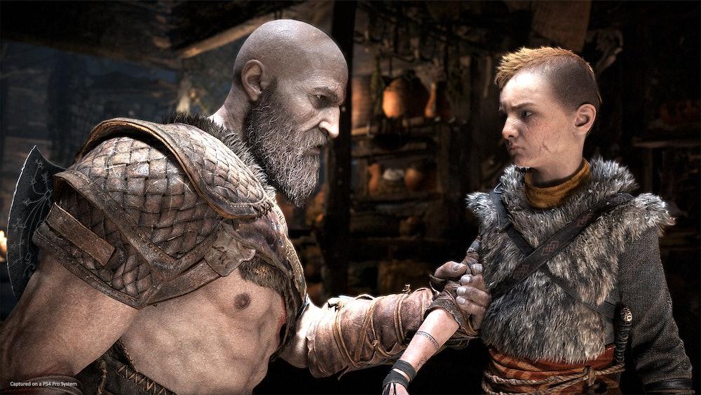 god of war kratos and atreus
