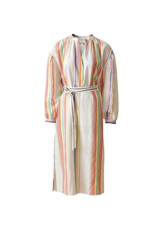 Lyocell-Blend Kaftan Dress