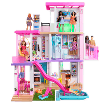Barbie's DreamHouse also includes a party room.