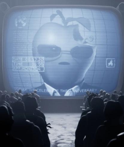 apple v epic fortnite commercial