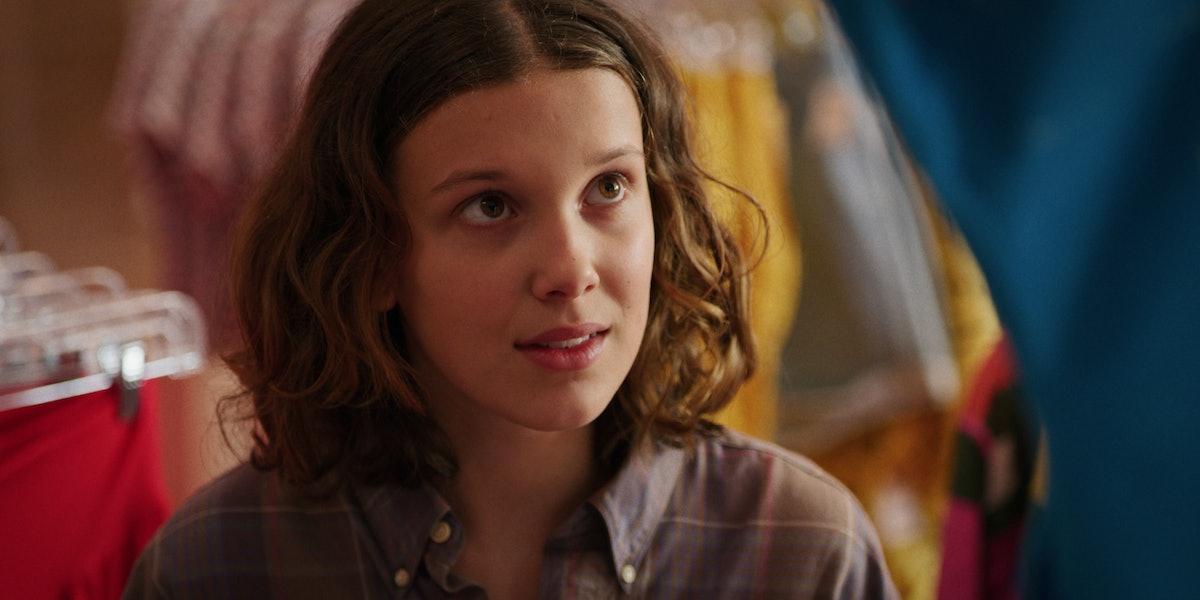 Eleven in 'Stranger Things' Season 3