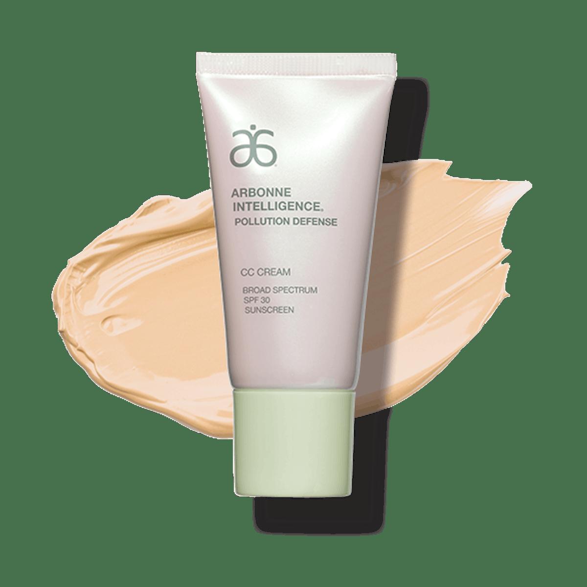 Arbonne Intelligence Pollution Defense CC Cream Broad Spectrum SPF 30 Sunscreen