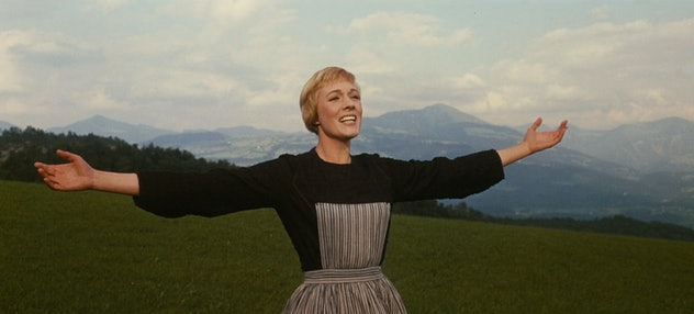 'The Sound of Music' won 10 Academy Awards in 1966, including Best Picture and Best Actress.