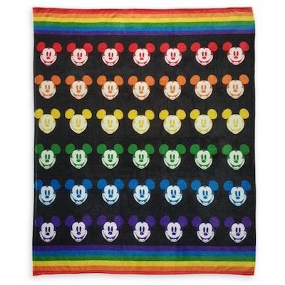 Mickey Pride Throw Blanket