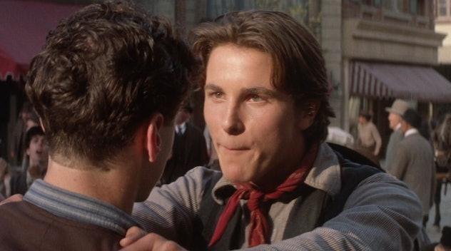 'Newsies' stars Christian Bale as Jack Kelly.