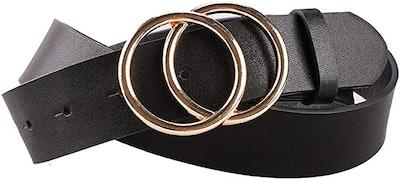 Earnda Leather Fashion Belt