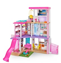 The Barbie DreamHouse is fully customizable.