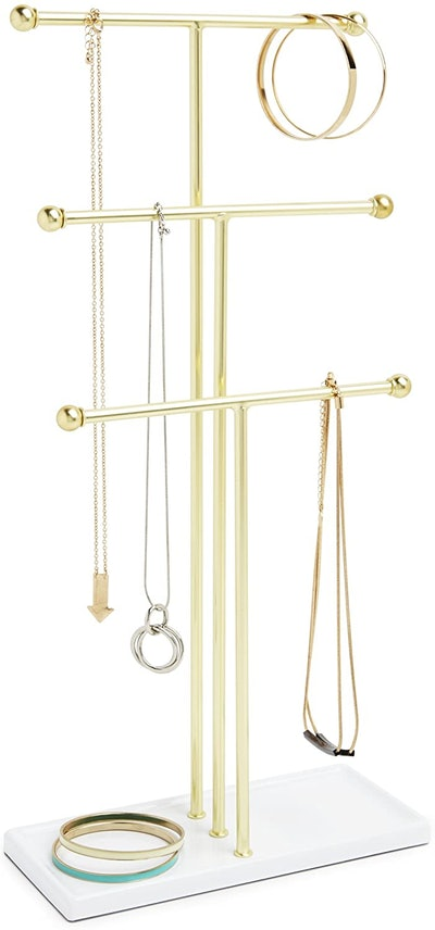 Umbra Trigem Hanging Jewelry Organizer