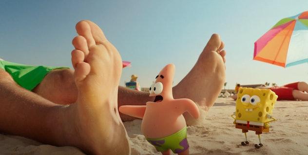 'The SpongeBob Movie: Sponge Out of Water' is based on the Nickelodeon series, 'SpongeBob SquarePants.'