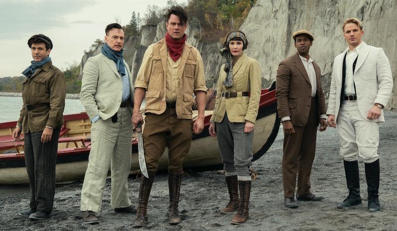 Sheldon Sampson and his team in 'Jupiter's Legacy,' via Netflix press site.