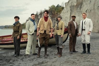 The cast of Jupiter's Legacy via the Netflix press site