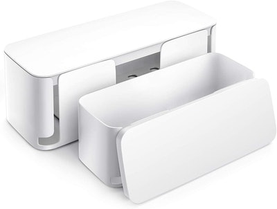 Yecaye Cable Organizer Box (2-Pack)