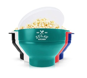 Zulay Kitchen Collapsible Microwave Popcorn Popper