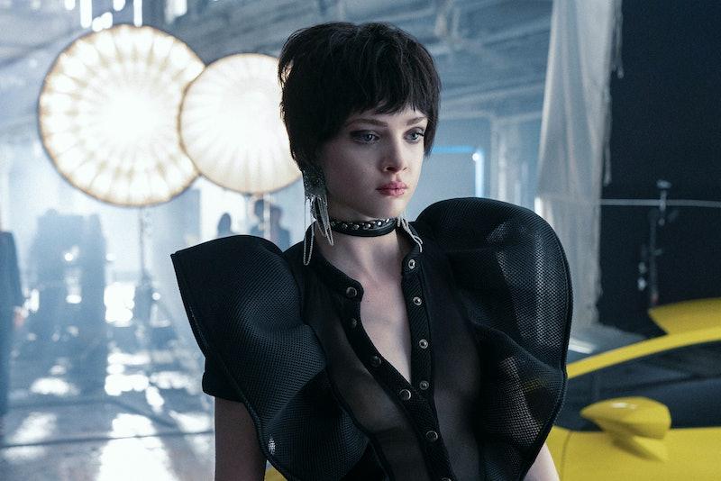 ELENA KAMPOURIS as CHLOE SAMPSON in 'Jupiter's Legacy,' via Netflix press site.