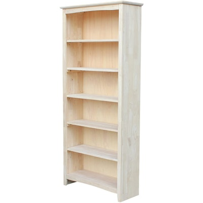 International Concepts Unfinished Bookcase