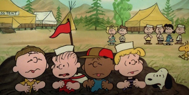 'Race For Your Life, Charlie Brown' puts the Peanuts characters at summer camp.