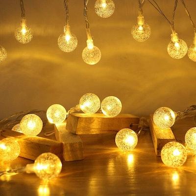 ANJAYLIA Globe String Lights