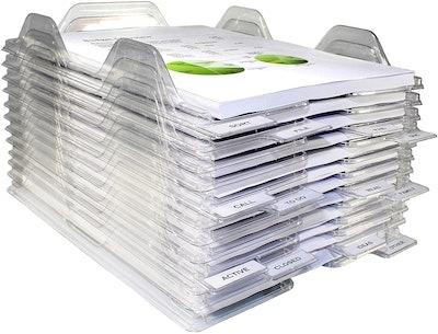EZSTAX File Organizers (12-Pack)