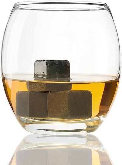 Quiseen Grey Beverage Chilling Stones (Set of 9)