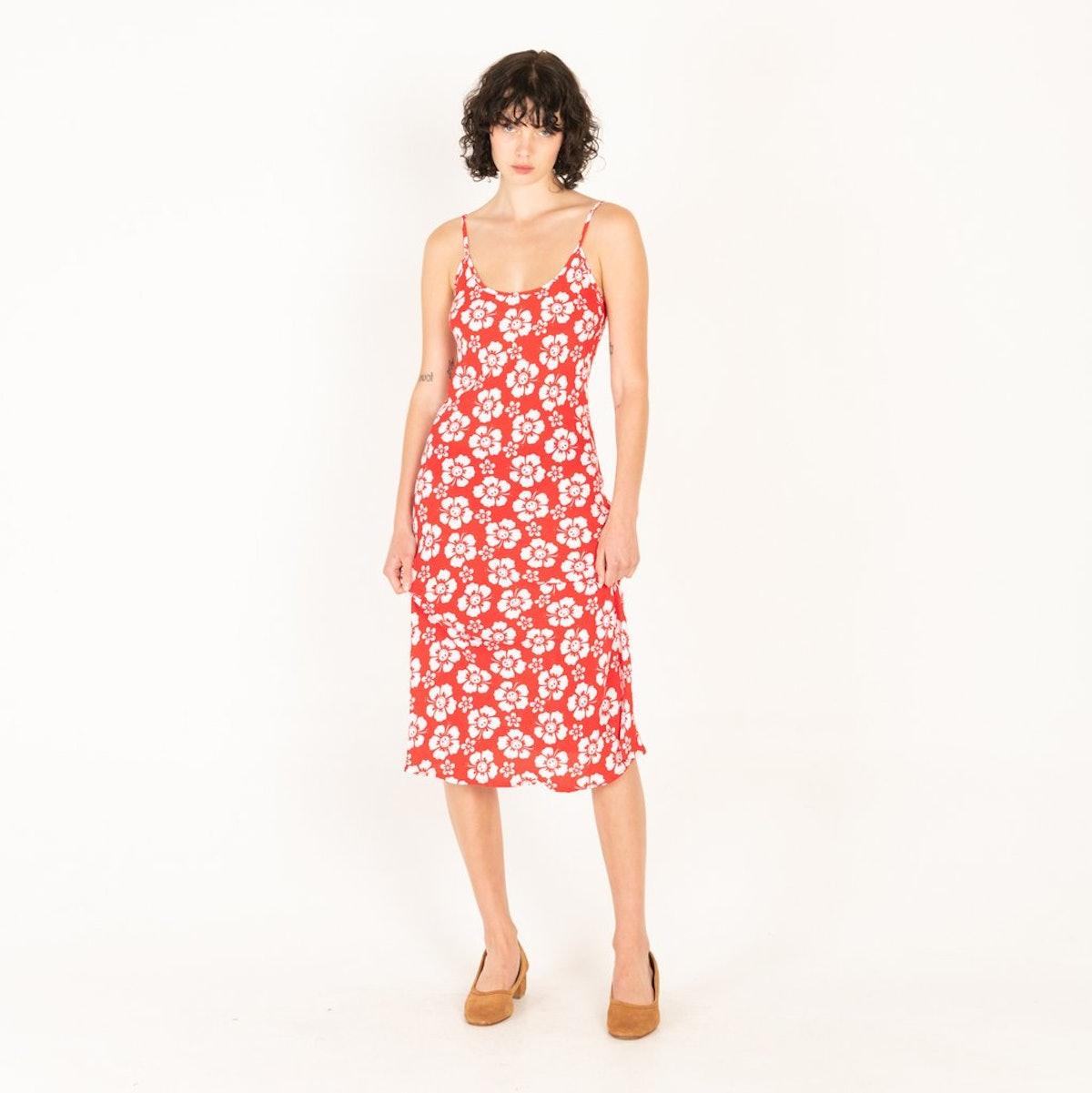 Vacation Slip Dress in Happy Hawaii