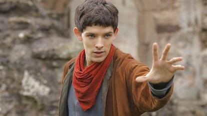Colin Morgan in 'Merlin' on the BBC