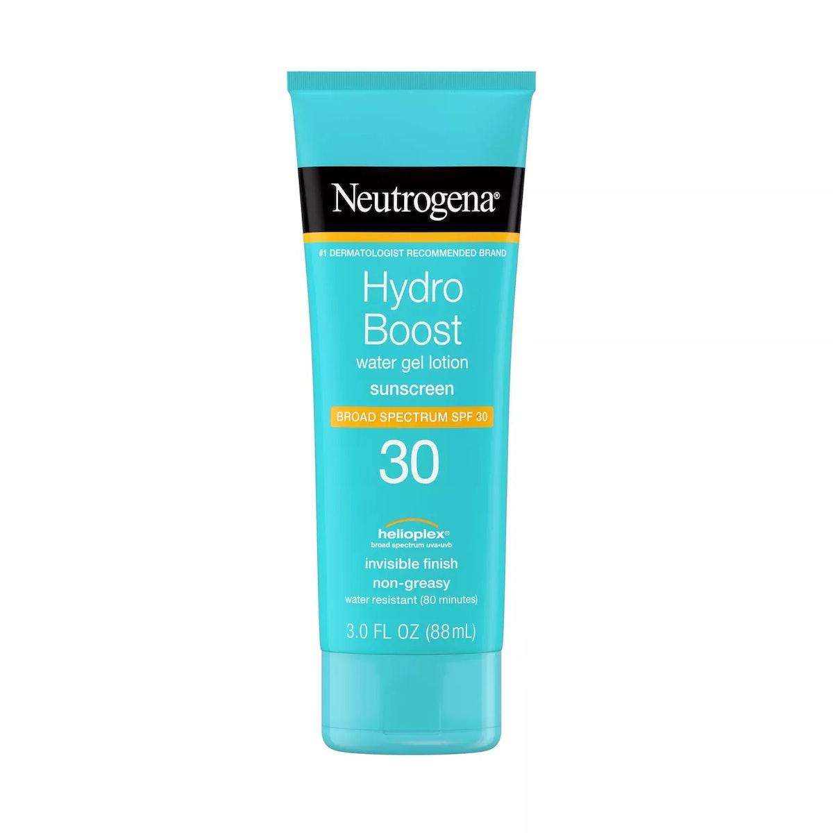 Neutrogena Hydro Boost Gel Moisturizing Sunscreen Lotion