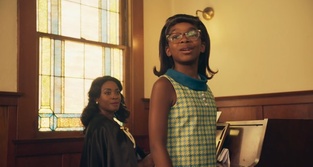 The American Girl movies often feature girls living in America before the contemporary era.