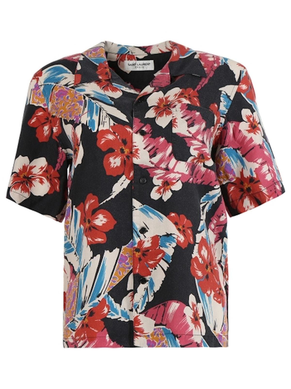 Hawaiian Floral Shirt