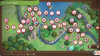 New Pokémon Snap Florio Nature Park Day