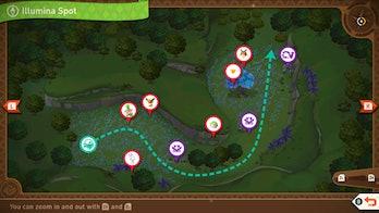 Illumina Spot Map New Pokémon Snap