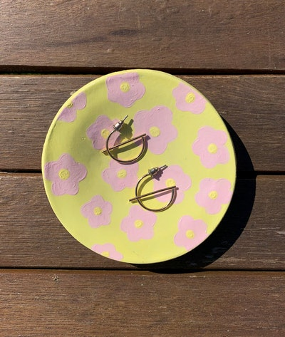 Handmade Clay Trinket Dish