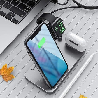 Saferell 4-in-1 Wireless Charging Station
