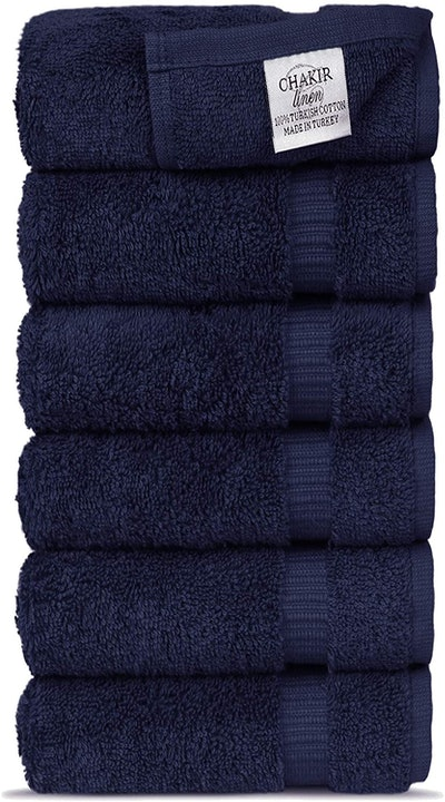 Chakir Turkish Linens Cotton Towels (6-Pack)