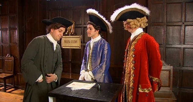 'Horrible Histories' aired in the UK in 2009.