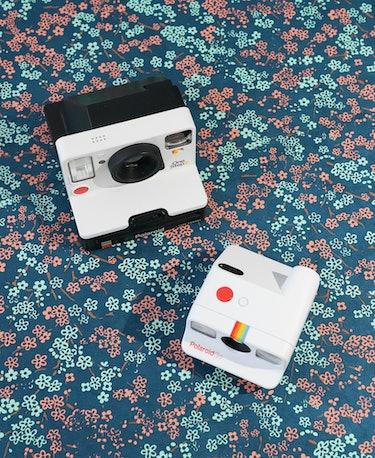 Polaroid Go review: The Polaroid Go is tiny compared to a standard Polaroid 600 type camera like the...