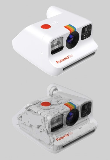 The inside of the Polaroid Go really does look like Tetris blocks stacked tightly in every piece of ...
