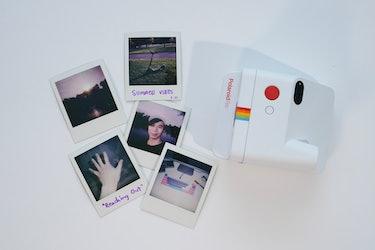 Polaroid Go review: mini Go film sample photo prints