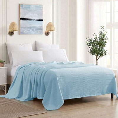 Sweet Home Collections Cotton Blanket