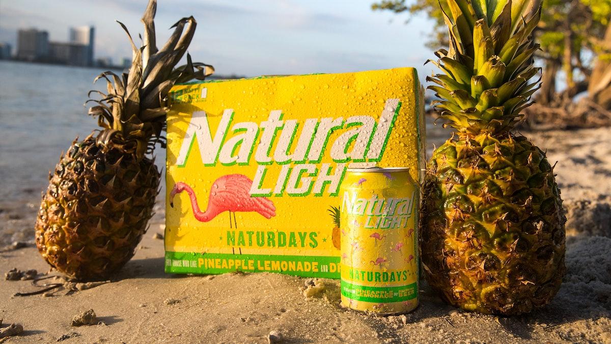 Here's where to buy Naturdays Pineapple Lemonade Beer for a refreshing summer sip.