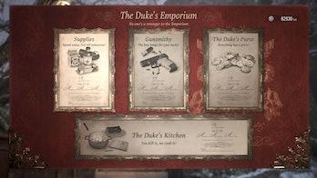 resident evil village duke's emporium shop