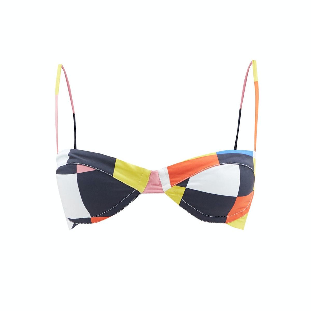 Carla de la Cruz bikini top
