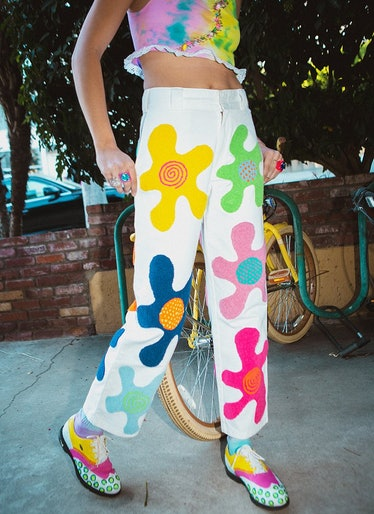 Daisy Blob Embroidered Dickies