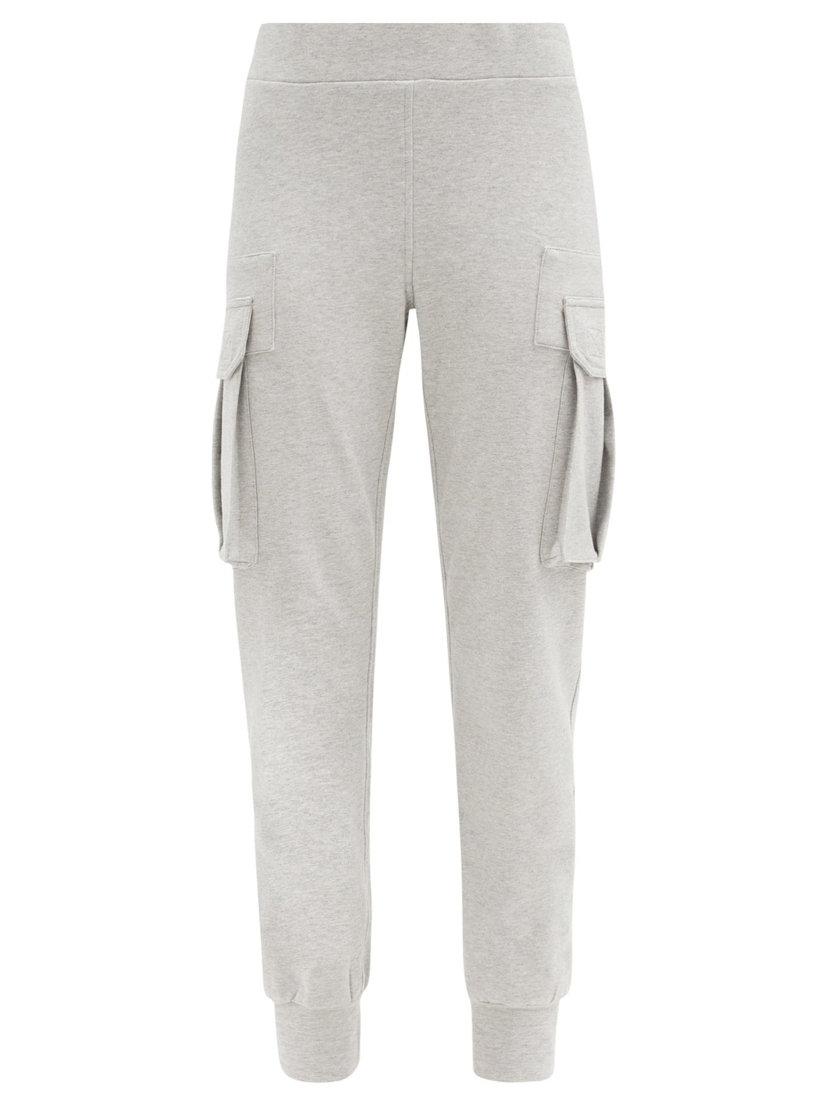 Cargo-Pocket Cotton-Blend Jersey Track Pants