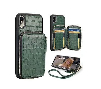 ZVE iPhone Xs Wallet Case