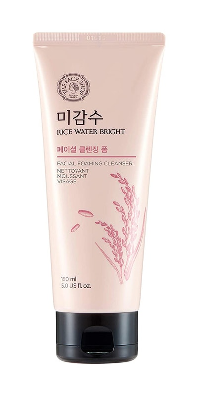 THEFACESHOP Rice Water Bright Foam Cleanser