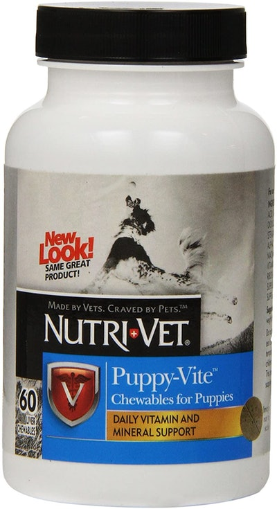 Nutri-Vet Puppy-Vite Chewable For Puppies (60 Count)