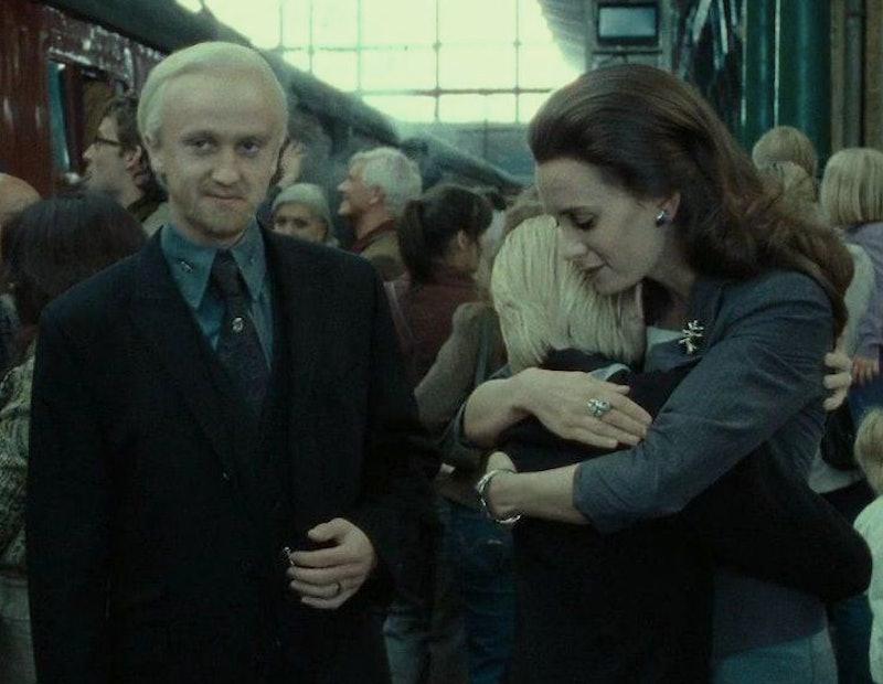 Tom Felton & his former girlfriend Olivia Jade starred together in Harry Potter.