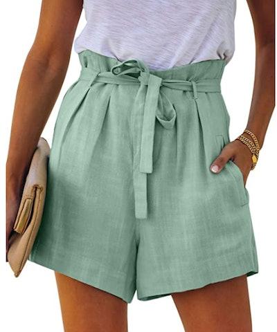 Paitluc Casual Linen Shorts