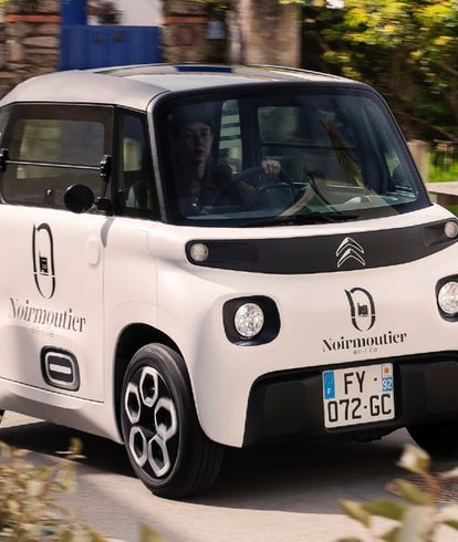 Citroën has unveiled a cargo-ready version of its small AMI electric car.