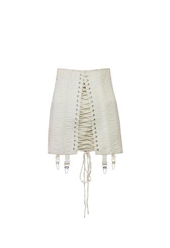 Gamine Skirt in Off White